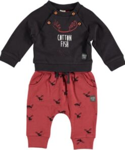 Conjunto niño Cotton Fish