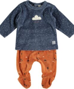 Conjunto polaina cotton fish